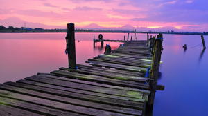Photography Nature Landscape Lake Pier 4288x2848 Wallpaper