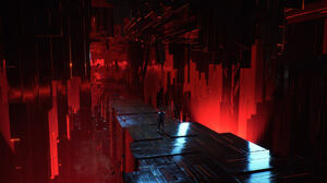 Video Games Chorus Red Space 1920x1080 Wallpaper
