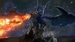 Dark Souls Dragon Warrior 2048x1152 Wallpaper