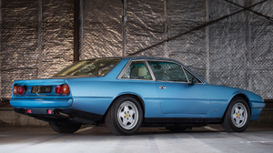 Blue Car Car Ferrari 412 Grand Tourer Old Car Sport Car 1920x1080 wallpaper