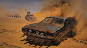 Car Flamethrower Mad Max Post Apocalyptic Vehicle 1920x1080 Wallpaper