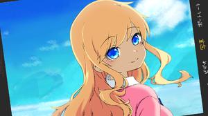 Idolmaster Cinderella Girls Starlight Stage Beach Vacation Blue Eyes Blonde Anime Girls 1920x1080 Wallpaper