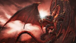 Artwork Fantasy Art Dragon Creature 1920x1440 Wallpaper