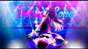 Hololive Tokino Sora Anime Girls Blue Eyes Concerts Music 1920x1080 Wallpaper