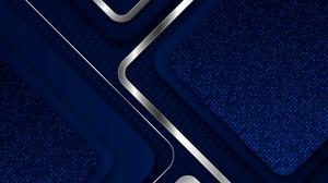 Artistic Blue Dots Geometry 3000x2000 Wallpaper