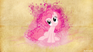 Magic My Little Pony Pie Pinkie Pie Splash Vector 1920x1080 Wallpaper