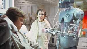 2 1b Surgical Droid Carrie Fisher Leia Organa Luke Skywalker Mark Hamill Princess Leia 1600x1200 Wallpaper