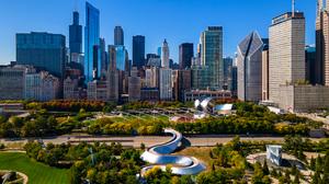 City Chicago Skyline 3804x2188 Wallpaper