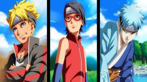 Boruto Uzumaki Mitsuki Naruto Naruto Sarada Uchiha 2800x1722 Wallpaper