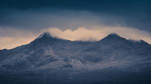 Cloud Landscape Scotland 5616x2390 wallpaper