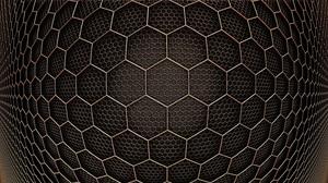 Abstract Hexagon 3072x1700 wallpaper