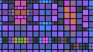 Abstract Colorful Digital Art Geometry Shapes Square 1920x1080 Wallpaper