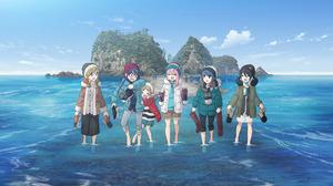 Aoi Inuyama Chiaki Oogaki Laid Back Camp Nadeshiko Kagamihara Rin Shima Yuru Camp 2757x1920 Wallpaper