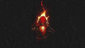 Chun Lo Illustration Artwork Digital Art Predator Creature Predator Movie The Predator Movie Fire Lo 1920x1080 Wallpaper