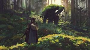 Fantasy Warrior 2000x1334 Wallpaper