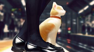 GUWEiZ Digital Art Artwork Drawing Cats Sketches 3000x3750 Wallpaper
