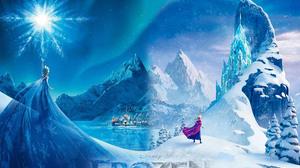 Anna Frozen Elsa Frozen Frozen Movie Snow 4961x3508 Wallpaper