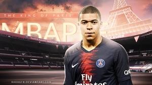 Kylian Mbappe Paris Saint Germain F C Soccer 1920x1080 Wallpaper