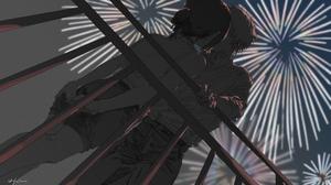 Anime Couple Love Huimuuu Anime Girls Anime Boys Chainsaw Man Denji Chainsaw Man Reze Chainsaw Man 2048x1152 Wallpaper