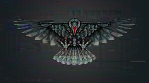 Bird Crow 3840x2160 wallpaper