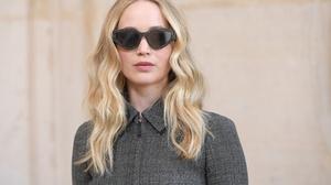 Actress American Blonde Jennifer Lawrence Sunglasses 3000x2000 Wallpaper
