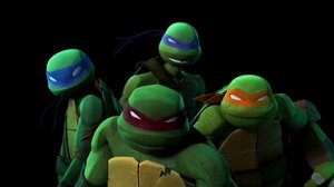 Teenage Mutant Ninja Turtles Rafael TMNT Simple Background Black Background 1920x1038 Wallpaper