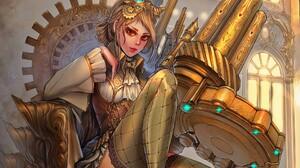 Fantasy Woman Girl Throne 1920x1200 Wallpaper