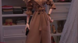 3D Render CGi Women Blonde Women Indoors Women With Glasses Glasses 1920x3349 Wallpaper