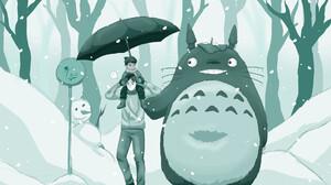 My Neighbor Totoro Studio Ghibli Anime 1920x1358 Wallpaper