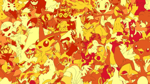 Arcanine Pokemon Blaziken Pokemon Camerupt Pokemon Chandelure Pokemon Charizard Pokemon Charmander P 1920x1200 Wallpaper