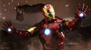 Figurine Iron Man Toy 5237x2917 Wallpaper