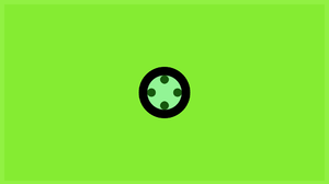 Circle Dots Minimalism Simple Green Background Simple Background 1920x1080 Wallpaper