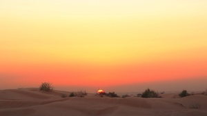 Desert Dune Nature Sand Sky Sunset 2047x1365 Wallpaper