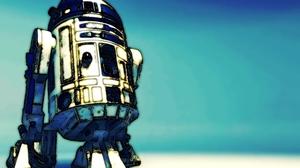 Leylek D Sovura Artwork R2 D2 Star Wars Star Wars Droids Blue 2560x1600 wallpaper