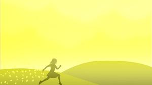 Bright Girl Yellow 8760x5475 Wallpaper