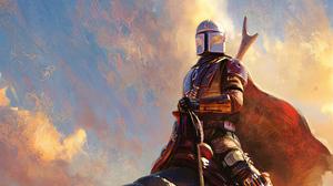 Star Wars The Mandalorian Character 3864x2174 Wallpaper