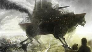 Sci Fi Steampunk 1920x1440 wallpaper