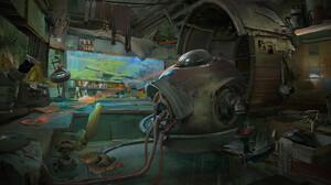 Artwork Fantasy Art Digital Art Cyberpunk Futuristic 1900x989 Wallpaper