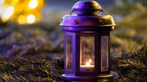 Lantern Candle 6000x4000 wallpaper