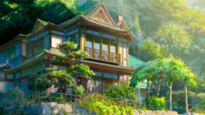 House Itomori Kimi No Na Wa Nature Your Name 2560x1600 Wallpaper