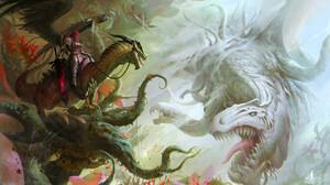 Warrior Dragon 1920x1090 Wallpaper