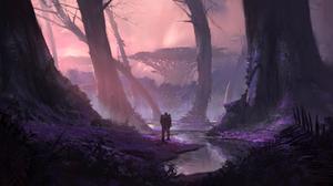 Fantasy Forest 4113x2129 Wallpaper