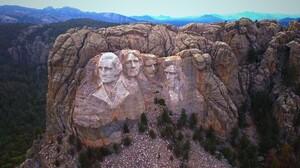 Mount Rushmore USA Presidents Statue Abraham Lincoln George Washington Theodore Roosevelt Thomas Jef 1920x1080 Wallpaper