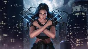 Marvel Comics Woman Warrior X 23 X Men 2496x1404 Wallpaper