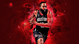 Basketball Houston Rockets James Harden Nba 2880x1800 Wallpaper