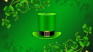 Clover Green Hat St Patrick 039 S Day 4600x3600 Wallpaper