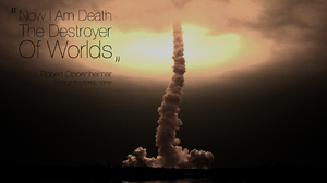 Bomb Explosion Nuclear 1920x1200 Wallpaper