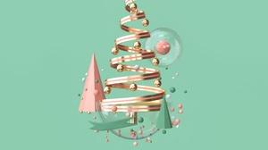 Christmas Tree 4000x3000 Wallpaper