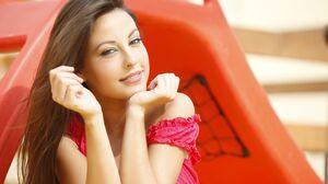 Brunette Women Long Hair Women Outdoors Looking At Viewer Spanish Girls Brown Eyes 4500x3000 Wallpaper