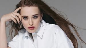 Actress Australian Blue Eyes Brunette Face Katherine Langford 2024x1518 wallpaper